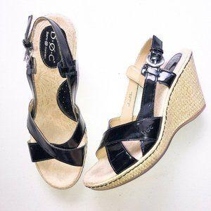B.O.C. Born Patent Espadrille Wedge Sandals